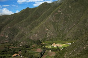 Inkaterra Hacienda Urubamba, dramatic setting in the Sacred Valley
