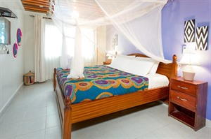 Bedroom at Heaven Boutique Hotel