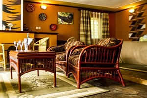 Lounge at Mountain Gorilla View Lodge