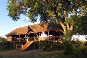 Exterior at Selous Impala Camp