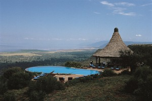 Lake Manyara Serena Safari Lodge Exterior