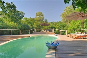 Pool & Sundeck At &Beyond Lake Manyara Tree Lodge