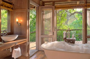 Suite Bathroom At &Beyond Lake Manyara Tree Lodge