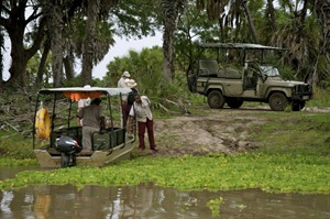 Safari at Lake Manze Camp