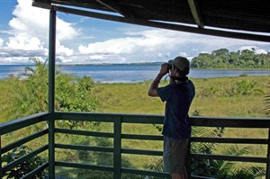 Views from Rubondo Island Camp