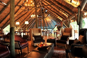 Serena Selous Camp Lounge