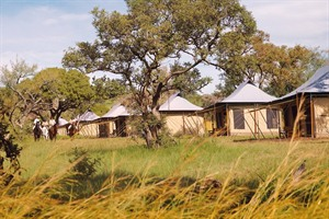 Singita camp in Tanzania
