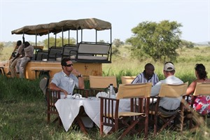 Apoka Lodge Game Dining
