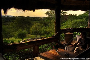 Views from Semliki Safari Lodge