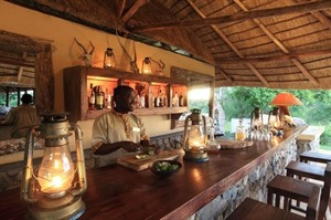 Bar at Semliki Safari Lodge