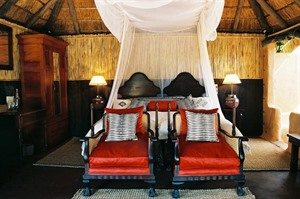 Bedroom in Amakhala Safari Lodge
