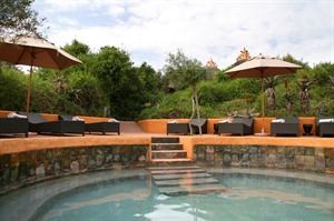 Pool at Amakhala Safari Lodge