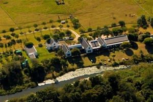 Aerial view of Bitou River Lodge