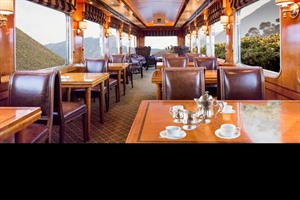 Restaurant on board Blue Train