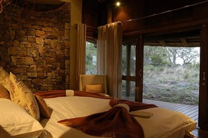 Bed at Buffalo Ridge Safari Lodge