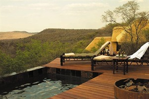 Pool with a view at Buffalo Ridge Safari Lodge