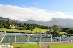 Tennis Courts at Fancourt Hotel