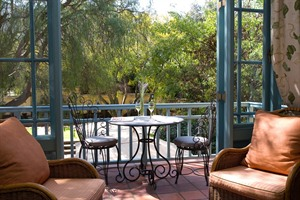 Standard Room Terrace at Franschhoek Country House & Villas