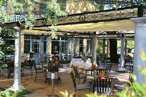 Restaurant Terrace  Franschhoek Country House & Villas