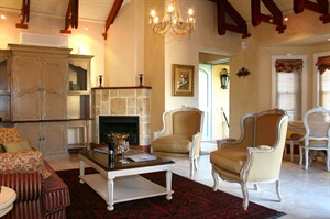 Villa Suite Lounge Franschhoek Country House & Villas