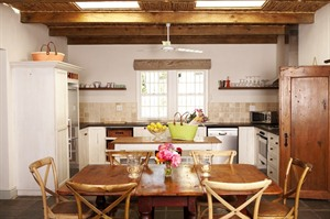 Cottage Kitchen at Le Quartier Francais
