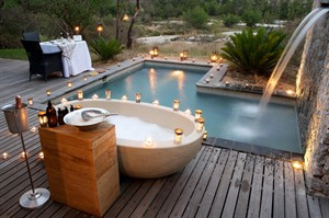 Complete relaxation at Londolozi Granite Camp