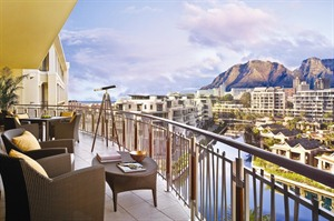 One & Only Cape Town Views from balcony