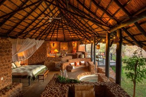 Room of Stanley Safari Lodge