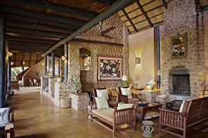 Lounge of Stanley Safari Lodge