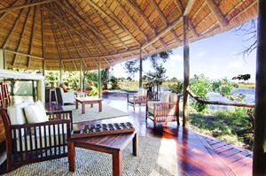 Kwando Lagoon Camp Mess Lounge
