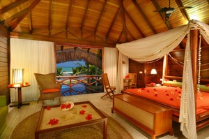 Nannai Beach Resort, Bungalow Premium Interior