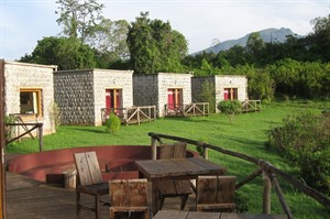 Comfortable en-suite chalets provide Ethiopia's best lodging