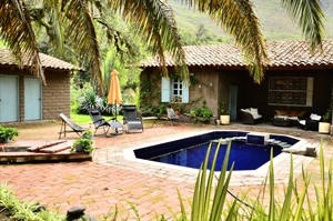 Hacienda Piman, swimming pool area