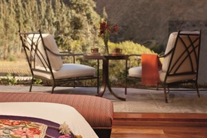 Belmond Hotel Rio Sagrado, terrace views