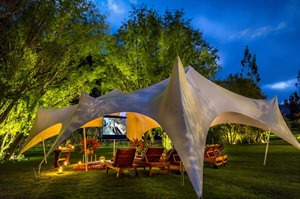 Belmond Hotel Rio Sagrado, movie night