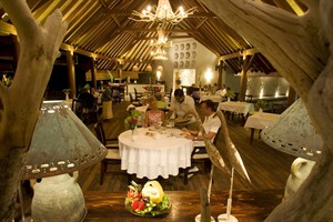 Denis Island Lodge Restaurant