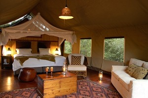 Thakadu River Camp Room