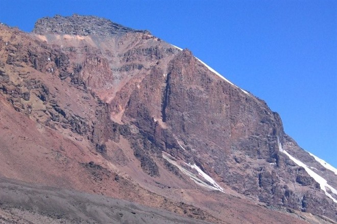 The Summit from Barranco Camp