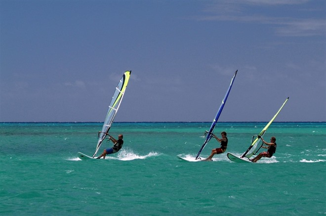 Water Sports At Constance Belle Mare Plage