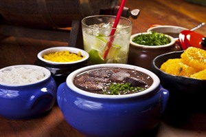 Feijoada, typical Brazilian meal
