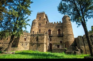 The 17th Century castles in the Imperial Compound at Gondar