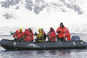 Antarctica, zodiac excursion
