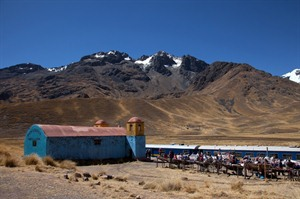 Views from the Andean Explorer Train