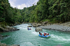 Optional white water rafting