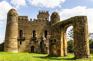 Fasilidas Castles in Gondar's Imperial Compound