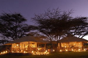 Joy's Camp in Shaba National Park