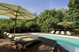 Pool at Lake Manyara Tree Lodge