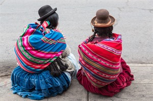 Typical Andean dress