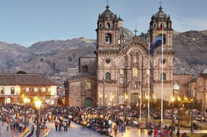 Inca capital of Cuzco