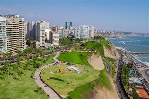 Ariel view of Lima